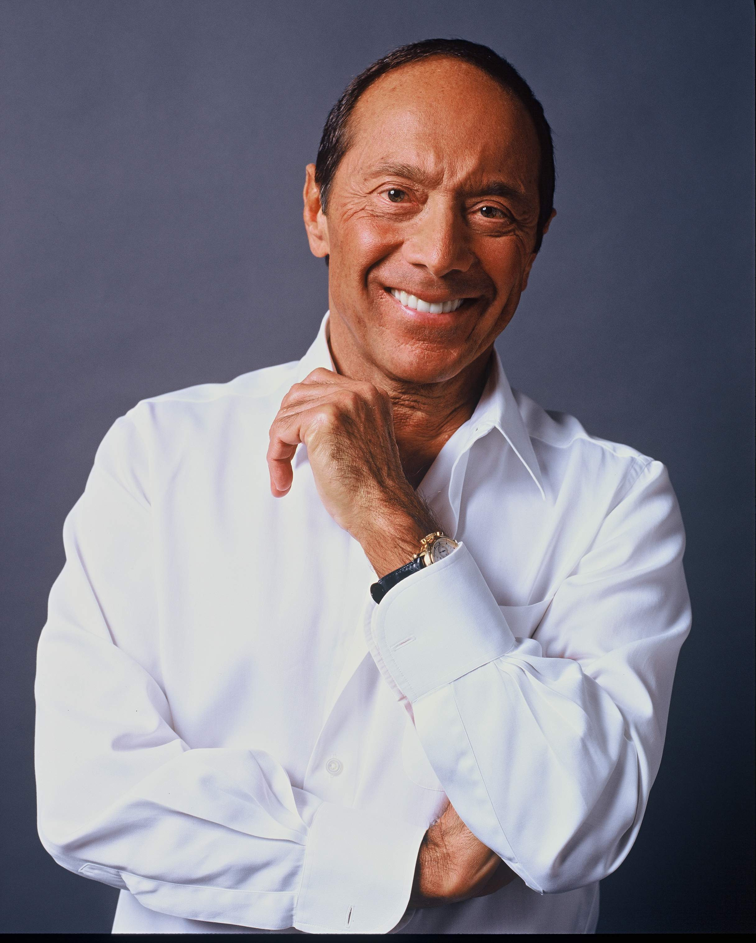 Den 76-år gammal, 168 cm lång Paul Anka in 2018 photo